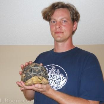 Ben Forrest, Conservation Husbandry Specialist - theTurtleRoom