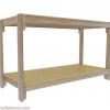 Rack Design for Medium WaterlandTubs, Ceilings under 7.5 feet, Minimum Length