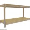 Rack Design for Medium WaterlandTubs, Ceilings under 7.5 feet, Extra Long
