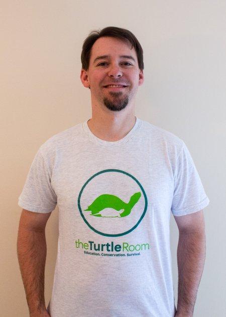 theTurtleRoom Logo T-Shirt - Ash Gray