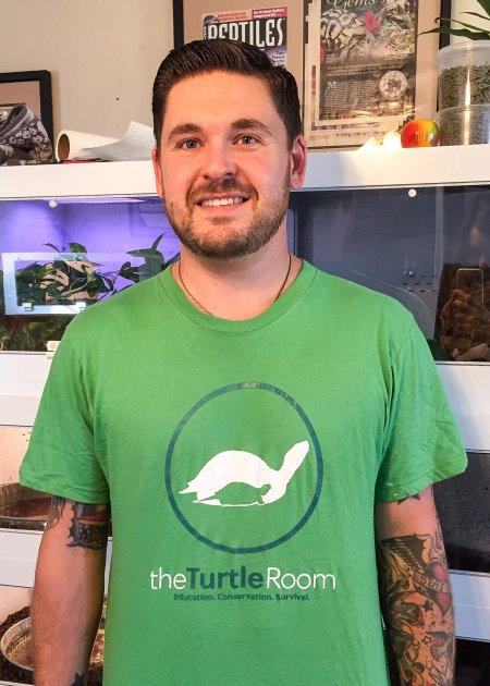 theTurtleRoom Logo T-Shirt - Grass