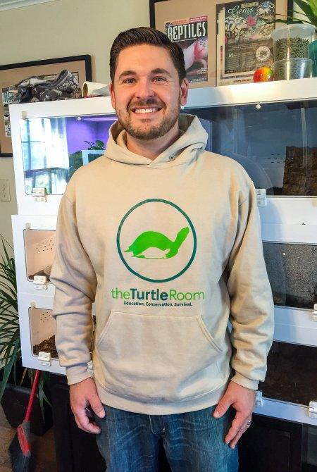 theTurtleRoom Logo Sweatshirt - Sandstone