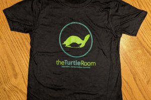 theTurtleRoom Kids Logo T-Shirt - Black