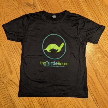 theTurtleRoom Kids Logo T-Shirt - Black