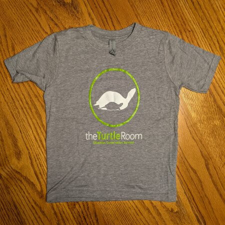 theTurtleRoom Kids Logo T-Shirt - Dark Heather