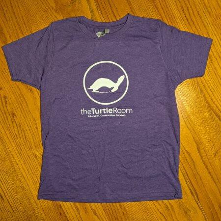 theTurtleRoom Kids Logo T-Shirt - Purple Rush