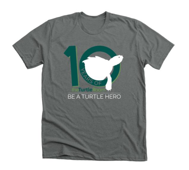 theTurtleRoom 10th Anniversary Bonfire Shirt Campaign